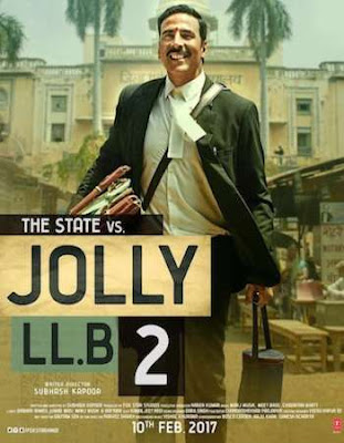 Poster of Jolly LLB 2 2017 Theatrical Official Trailer Free Download HD 720P
