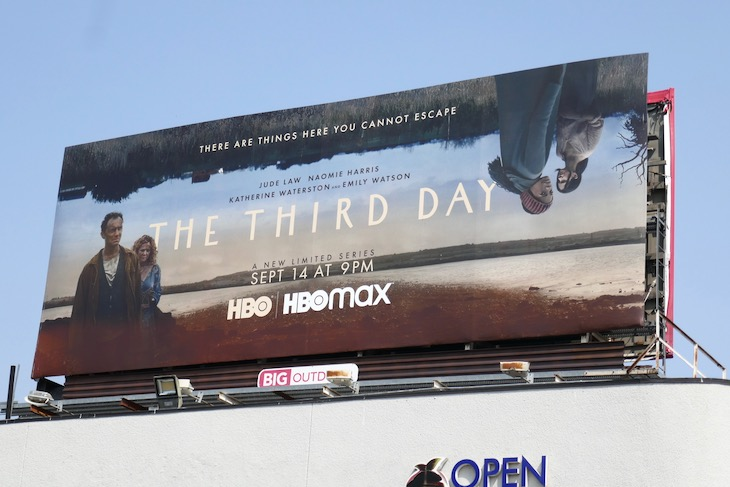 Third Day HBO series billboard