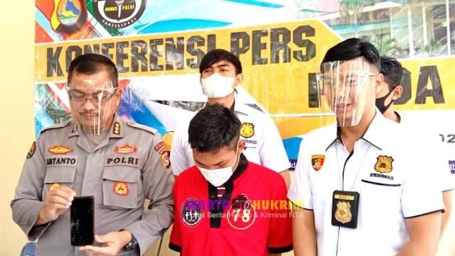 Pemuda Pembuat Konten TikTok Menghina Palestina di Lombok Ditangkap Polisi