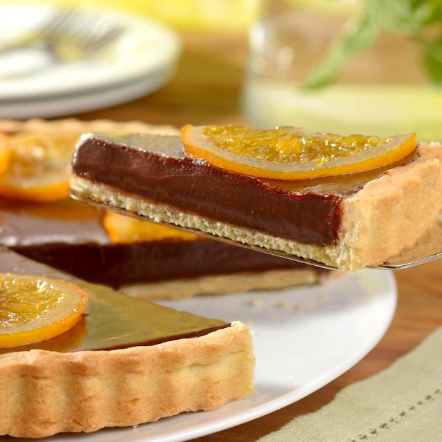 Torta de Chocolate com Laranja