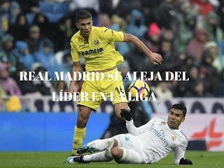 Real Madrid perdió ante el Villarreal en el Bernabéu