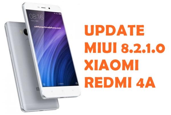 Update Android 7.0 Nougat Untuk Xiaomi Redmi 4A Secara Manual