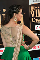 Manjusha in Beautiful Sleeveless Green Anarkali dress at IIFA Utsavam Awards 59.JPG