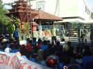 Aksi Demo Mahasiswa Pasuruan Menuntut Keadilan HAM Atas Tragedi Desa Alastlogo