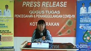 Press Release COVID-19 Tarakan 17 Juli 2020 - Tarakan Info