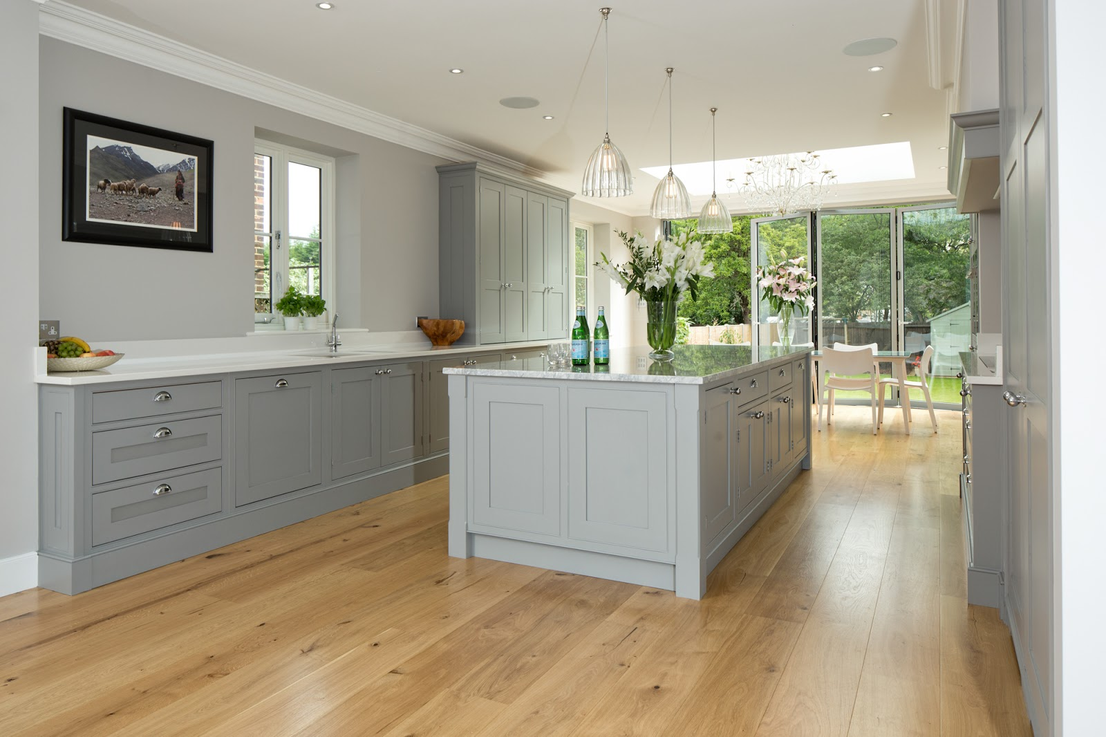 Kitchens In White And Grey