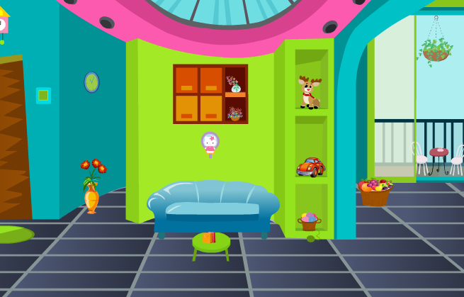 KnfGames New Colorful Room Escape