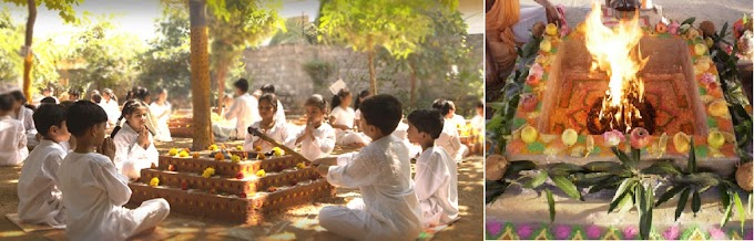 Yagya or Yajna: vedic fire performance