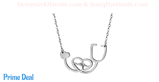 30% OFF Stainless Steel Nurse Doctor Medical Stethoscope Chain