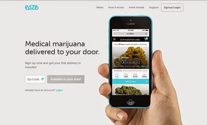 Сартап Ньюс. Сервис по доставке лечебной марихуаны