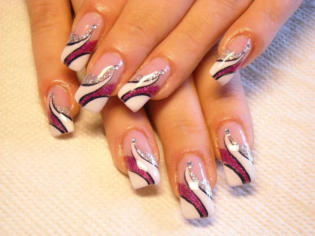It Is Also Important To Note That Most Nail Art Is Done By Hand. A Nail  Artist May Make Use Of A Sharp Brush In Order To Paint Fine Dots.