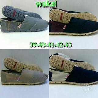 Sepatu Wakai Polos Kece Berbagai Warna Dan Model