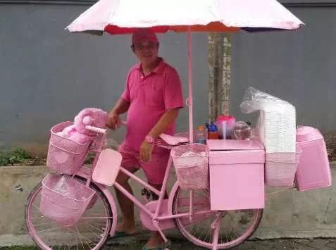 Penjual Siomay Pink Dulu Miliyader Sekarang Bangkrut,dan Mulai dari Nol Lagi