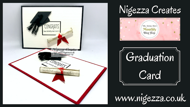 Nigezza Creates with Stampin' Up! Graduation Card