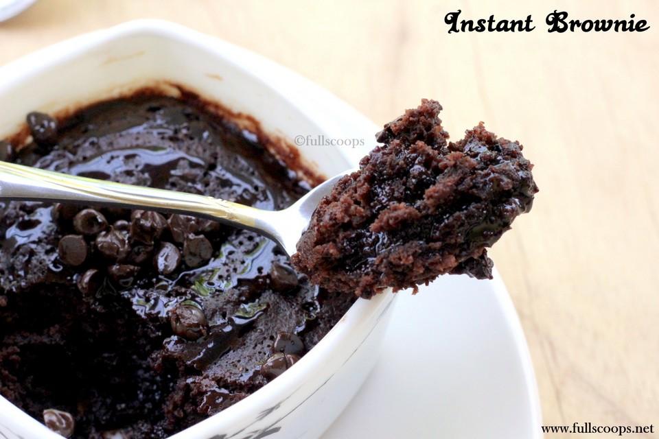 Mug Brownie Microwave Mix