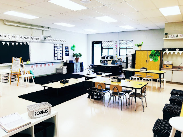 modern farmhouse classroom decor tour