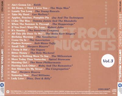 VA - Softrock Nuggets Vol.3 ~ Birthday Morning (2017)