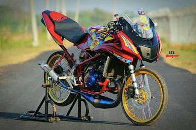 Modifikasi Jari-jari Motor Ninja RR