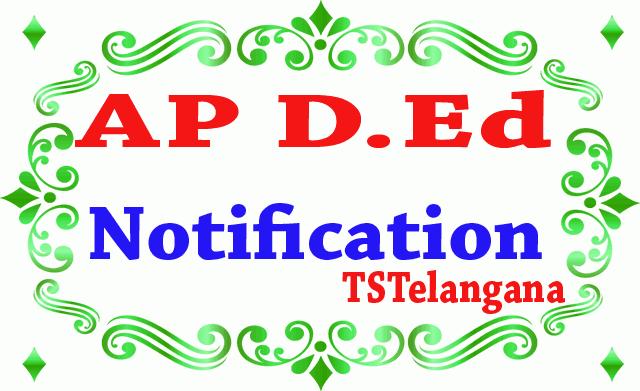 AP D.Ed Notification 2019