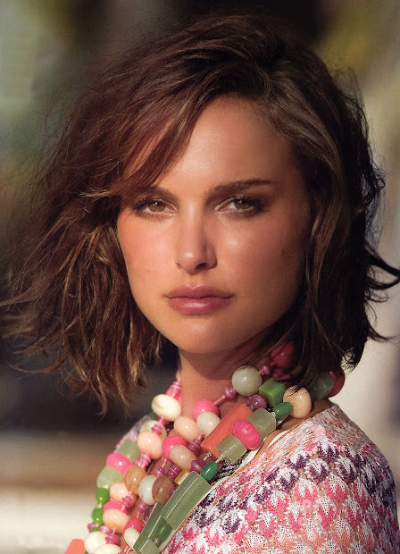 Natalie Portman Medium Hair