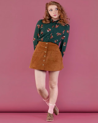 outfit vintage casual juvenil para la universidad