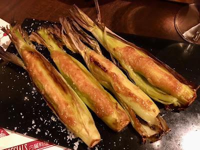 ヤングコーンのオーブン焼き