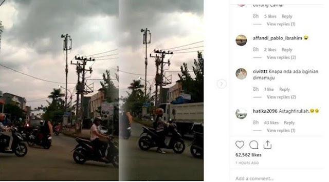 Viral Terdengar Suara Aneh dari Langit Gemparkan Warga Makassar