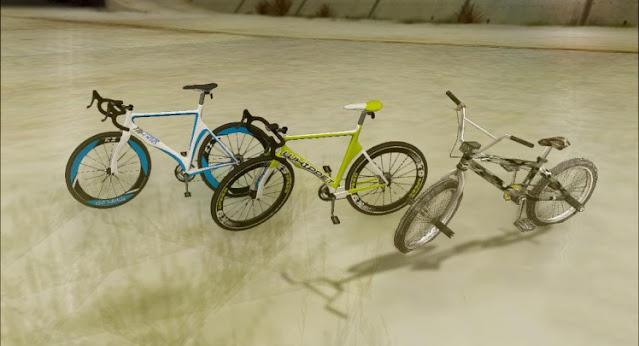 GTA V Bicycles V3 For GTA San Andreas 2021