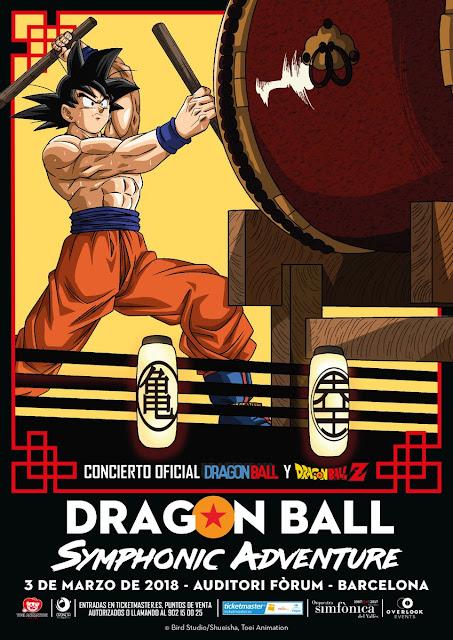 """""""Dragon Ball Symphonic Adventure"""" llega a Barcelona"""