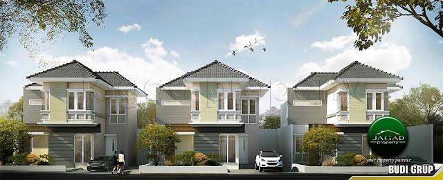 Rumah 2 Lantai dekat Kampus UKRIM