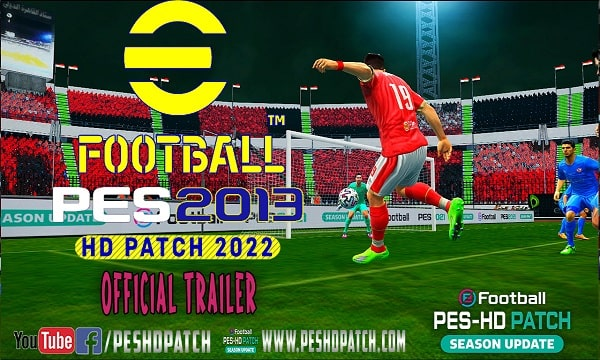 PES 2013 HD PATCH 2022 Trailer