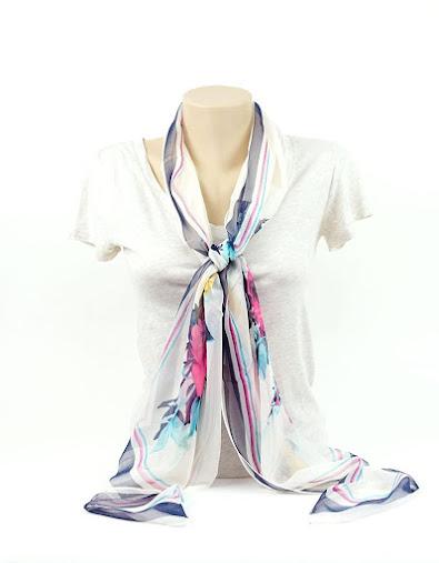 Cheap Soft Chiffon Scarves Shawls Wraps With Beautiful Patterns