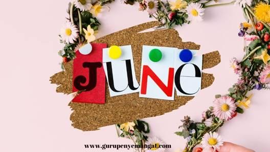 Pantun Lucu dan Romantis Bulan Juni