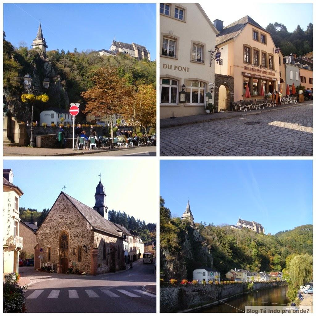 Passeando por Vianden, Luxemburgo