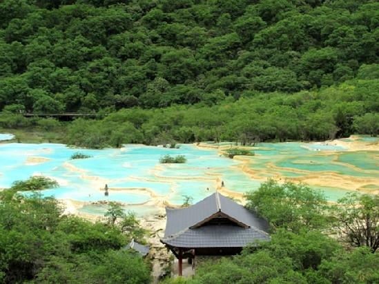 Terrazas calcáreas de Huanlong
