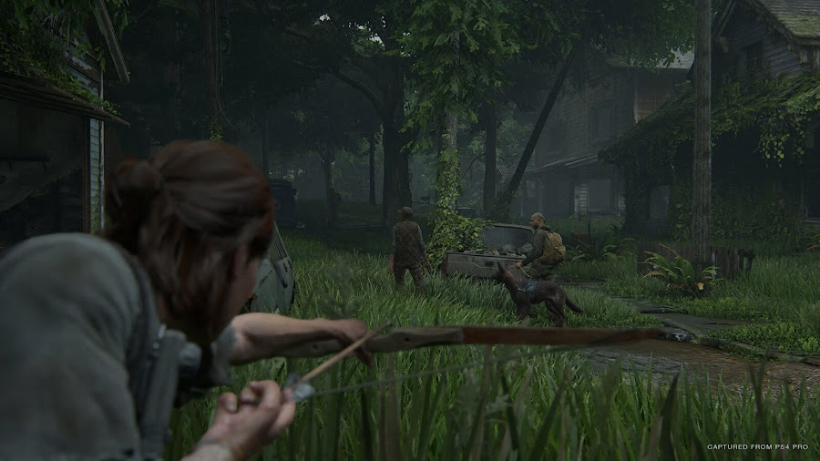the last of us 2 gameplay analog stealth system ps4 naughty dog sony interactive entertainment