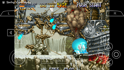 تحميل لعبة Metal Slug Anthology لأجهزة psp لمحاكي ppsspp