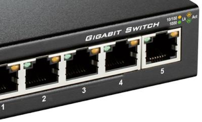 cara kerja router dan switch