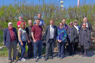 Blackpool Princess Parade Crazy Golf course - project team 20 May 2019 Photo by Blackpool Fulfilling Lives