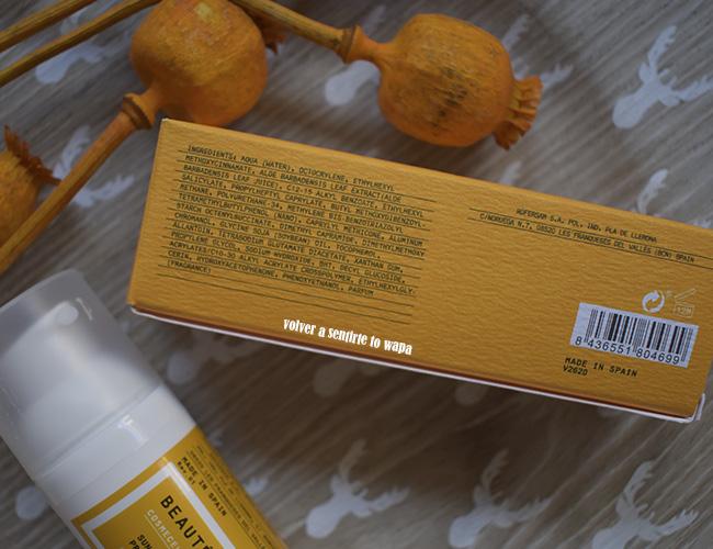 Crema de protección solar SPF 50+ de Beauté Mediterránea