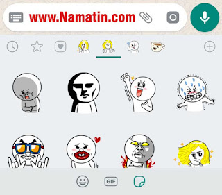 Sticker Pack WA Line James