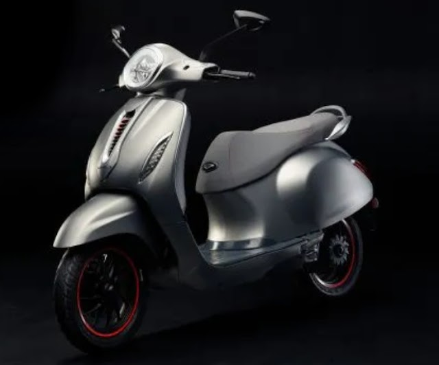 Bajaj launch her first electric scooter chetak.
