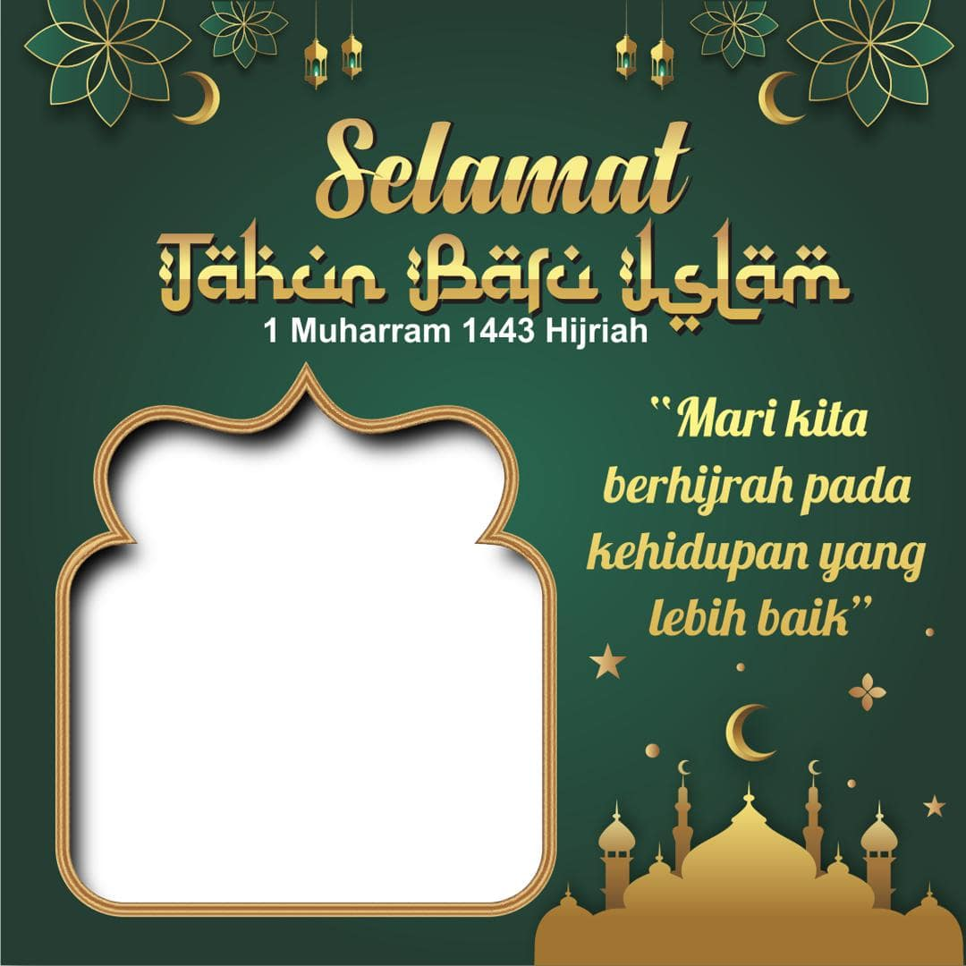 sukaoinfo.com - Caption Gambar Ucapan Selamat Tahun baru Islam