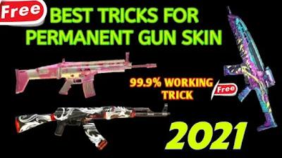كيفية الحصول على جلود الأسلحة (مجانًا في لعبة فري فاير)