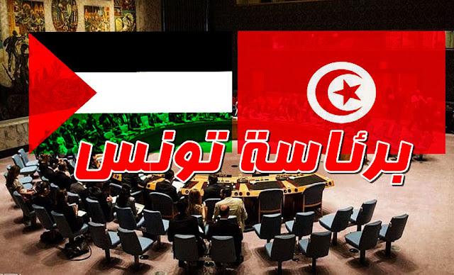 lonu tunisie palestine