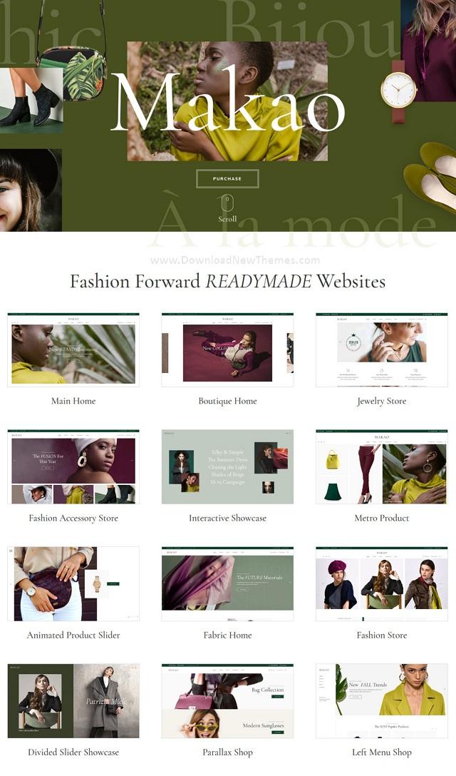 Best Fashion Shop WordPress Theme