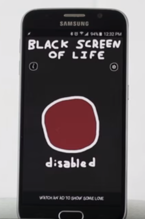 youtube videos black screen only sound android