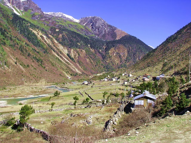 Thangu valley in Sikkim