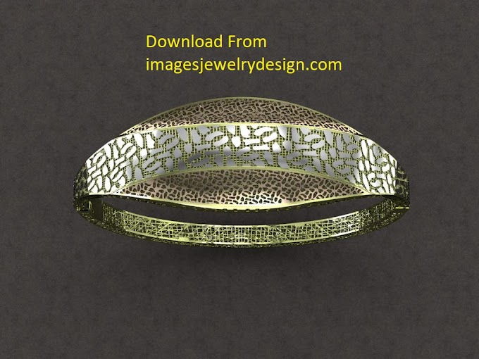 Free download 3D rendering bracelet design