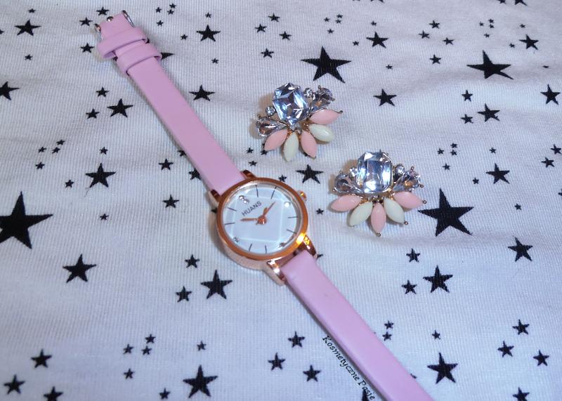 różowy zegarek rosegal